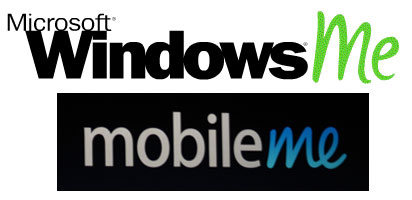 Mobile Me? Windows Me? Familiar?