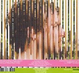 Rear side of Les Savy Fav album, \